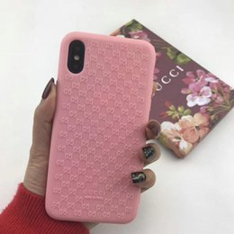 Dreidimensionale relief silikon telefon case für iphone x xr xs max telefon case tpu weich für iphone 6 6 plus 7 7 plus 8 8 plus case