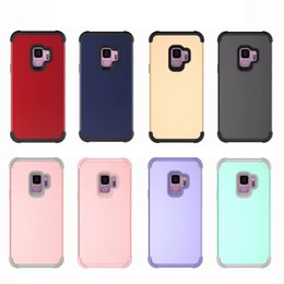 Defender Case Iphone Quality Australia - High Quality 3 in 1 Hybrid Robot TPU Commuter Defender Armor Case Cover For iPhone X Xr Xs Max 8 7 6 6S Plus S10 Plus S9 Note 9