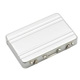 Mini Safe Boxes UK - Mini Aluminum Safe Suitcase Briefcase Business Credit Bank Card Holder Box Case