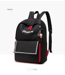 hots korean style backpack Australia - Hot Korean new fashion woman backpack personality casual trend solid color schoolbag large capacity female student backpack