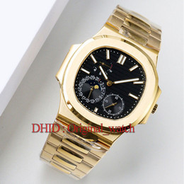 Stainless Steel Unisex Luxury Watches Australia - montre de luxe luxury mens watches automatic watch 5724 40mm gold 316L stainless steel case bracelet power display sapphire reloj de lujo