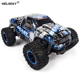 Toys For Buggy Australia - Motors Drive High Speed Suv Rc Car 4ch Electric Speed Rc Racing Bigfoot Buggy Radio Control Car Hummer Toy Car Model Toy For Boy
