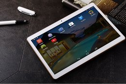 Phablet Gps Quad Australia - 10 inch MTK6582 3G WCDMA Quad Core Android 4.4 IPS capacitive touch screen Dual Sim tablet pc Phablet WIFI GPS 10.1 4GB +64GB