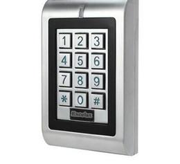Водоустойчивая двойная клавиатура на открытом воздухе двери вандала Ип66 кнопочной панели контроля допуска реле автономная Открытая 1100 потребителей 125кхз карты близости