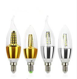$enCountryForm.capitalKeyWord Australia - 10pcs E14 Led Candle Energy Saving Lamp Light Bulb Home Lighting Decoration Led Lamp E14 5W 3W 220V 230V 240V SMD2835