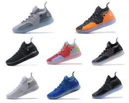"shoes new zoom kd Australia - 2019 New Arrival KD 11 ""EYBL"" Mens Shoes, Top Quality React ZOOM KD11 EP Athletic Sport Sneakers AO2604-600 Eur Size 40-46"