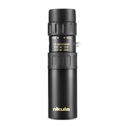 $enCountryForm.capitalKeyWord Australia - Original binoculars Nikula 10-30x25 Zoom Monocular high quality Telescope Pocket Binoculo Hunting Optical Prism Scope no tripod