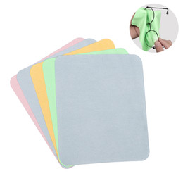 Cleaning Pack Australia - 10Pcs Pack Lens Eyeglasses Cleaning Cloth Microfiber Phone Screen Cleaner Sunglasses Camera Duster Wipes Eyewear Accessories 175mm*145mm