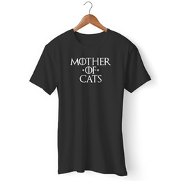 $enCountryForm.capitalKeyWord Australia - Mother Of Cats Nerd Cute Cat Lover Geeky Girly Cat Lady Man's   Woman's T-Shirt Men Hot Cheap Short Sleeve Male Funny Tee Shirts
