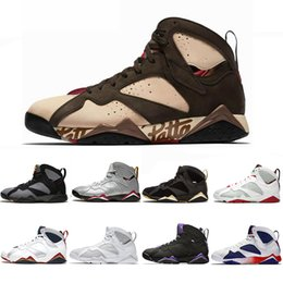 Discount olympic football - Top Sale Jumpman Reflective Bugs Bunny Patta X 7 Basketball Shoes Ray Allen Olympic 7s History of Flight Hare mens Rapto