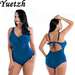 $enCountryForm.capitalKeyWord Australia - 2019 New Women Swimsuit One Piece Swimwear Plus Size Swim Suit Russian Larges Size Swimming Suit Beachwear Bathing Wear Big Size Y19052101