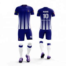 c88828f2404 Custom Soccer Jersey Sets NZ - custom football kids soccer uniforms men  boys football jerseys set