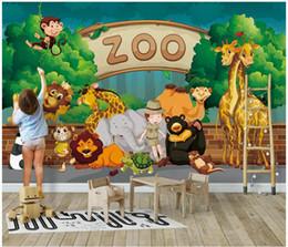 $enCountryForm.capitalKeyWord Australia - Custom photo wallpapers 3d murals wallpaper 3D Cartoon forest animal children room background wall papers home decor
