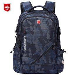 $enCountryForm.capitalKeyWord Australia - Anti-thief Usb Charging Laptop Backpack Men Swiss Oxford Bagpack Waterproof Travel Backpack Female Vintage School Bag 15 17inch Y19061102