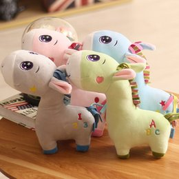 $enCountryForm.capitalKeyWord Australia - 20170624 Lovely Guardian Donkey Stuffed Animals Plush Toys Creative Doll Girl Birthday Gift Free Shipping 25cm