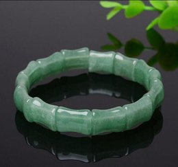 $enCountryForm.capitalKeyWord Australia - Natural green Dongling jade bracelet, best gift for girlfriend