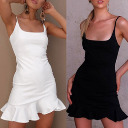 $enCountryForm.capitalKeyWord Australia - Cheap Women clothes sexy Casual Dresses Sling skirt wrapped chest backless pleated dress summer clothes 288