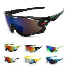 Venta al por mayor de ¡Caliente! 2018 profesional polarizado ciclismo gafas de sol deportes al aire libre bicicleta gafas gafas de sol 29 g gafas gafas 5 lentes # 235288