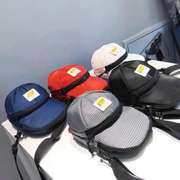 Cute Small Cosmetic Bag Australia - Cute Women Oxford Hats Bag Creative Man Leisure Shoulder Crossbody Bag Outdoor Lady Small Phone Cosmetic Tool Bag LJJT473