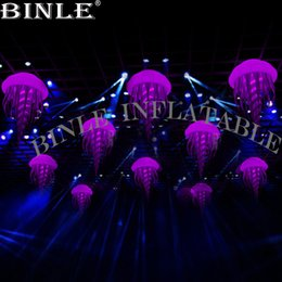 inflatable for event party decoration Australia - Air Balloons Hanging Led Inflatable Jellyfish Balloon For Party Supplies And Grand Event Decoration