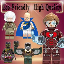 $enCountryForm.capitalKeyWord NZ - Super Heroes Avengers Observer Yellow Jacket Captain America Vulture Figures Building Blocks Toys Gifts for Children X0218