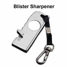 $enCountryForm.capitalKeyWord Australia - Outdoor Gear Kimter Mini-Field Blister Sharpener Keychain Knife Camping Pocket EDC Cutting Tools Sharpner Christmas Gift P462R Q