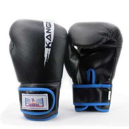 $enCountryForm.capitalKeyWord Australia - Genuine Leather kickboxing gloves for competition and professional training high wear-resisting boxing bag gym men sports gloves
