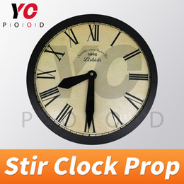escape game props Canada - YOPOOD Clock Prop Escape Room in Real Life Stir clock in correct time to unlock takagism game prop set certain time previously