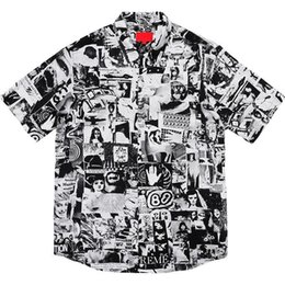 $enCountryForm.capitalKeyWord Australia - New Box Logo Vibrations Rayon Shirts Short Sleeve Nostalgic Vintage Hawaiian T-shirt Casual Street Summer Cool Beach Holiday Tee Hfymtx352
