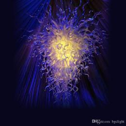 $enCountryForm.capitalKeyWord Australia - Chihuly Style Hand Blown Glass Art Chandelier Lighting Restaurant Hotel Lights Elegant Beautiful Hand Blown Glass Villa Lighting Chandelier