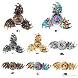 dragon spinner NZ - Colorful Dragon's eye Fidget Spinner Metal Rainbow Dragon Hand Finger Spinners for Autism and ADHD Focus Anxiety Relief Stress Toys 40