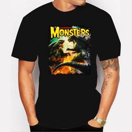 Mens Long Sleeve Graphic T Shirts NZ - Famous Monsters Godzilla vs Gamera Long Sleeve Graphic Mens Unisex T-shirt S-3XL