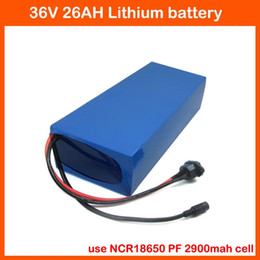 used electric scooters bike UK - 36 V Electric Bike Battery 36V 26AH scooter battery Use for Panasonic 2900mah cells with 50A BMS 2A charger free customs fee