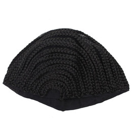 $enCountryForm.capitalKeyWord Australia - OLD STREET Cornrows Cap For Easier Sew In Braided Wig Caps For Making Wig Glueless Hair Net Liner Crochet Wig Caps(S M L)
