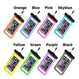 motorola smart phones 2019 - Swimming Waterproof Case Bag Universal PVC Protective Phone Dry Bag Underwater Diving Pouch Smart phone Cover for iphone