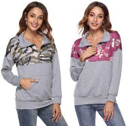 $enCountryForm.capitalKeyWord Canada - New spring and autumn hot European and American fashion personality lapel printing stitching zipper trim female jacket