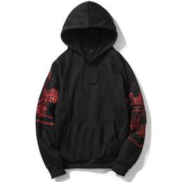 Clothing Dropshipping Australia - EU Size XXL Hoodies Sweatshirt Men Hip Hop Fashion Print Cotton Tracksuit Sweat Coat Hoodies Male Brand Clothing Dropshipping