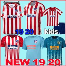 6922cd68938 TOP Atletico Madrid soccer jersey 2018 2019 2020 GRIEZMANN KOKE GABI SAUL  DIEGO COSTA GODIN 18 19 20 Adult men kids football shirt uniforms