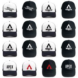 dbafeb471a769 Game Apex legends Baseball Caps Hip Pop Streetwear Snapback Summer Trucker  Dad Hat for Women Men Gift Outdoor Mesh Hats
