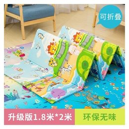 kids safety games 2019 - XPE Crawling Pad Baby Game Blanket Thickening Enlarges Children Folding Environmental Protection Safety Kids Play Mats P