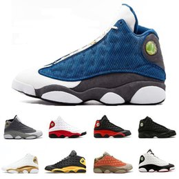 $enCountryForm.capitalKeyWord NZ - He Got Game Xiii 13 Italy Blue 13s Black Cat Hyper Royal Chicago Mens Basketball Shoes Bred Phantom Sports Sneakers Baskets Size 13