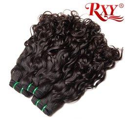 Malaysian Curly Hair 3pcs Water Wave Human Hair Bundles Natural Wave Bundles 10a Grade Virgin Malaysian Hair Extensions 10-26 Inch
