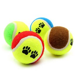 Pet Puzzle Toys Australia - CHUN0318 2019 Pet Tennis Dog Cat Training Bite Ball Interactive Puzzle Dog Toy Dog Bite A Generation of Hot Sale Free Shipping