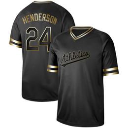 4fe72743d Mens Oakland Black Gold 24 Rickey Henderson 25 McGwire 44 Reggie Jackson 2  Khris Davis 21 Marco Estrada Athletics Baseball Jerseys