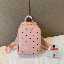 Fur handbags For girls online shopping - Pink sugao backpack for women designer handbag shoulder purse top quality leather print letter backpack new style color choose