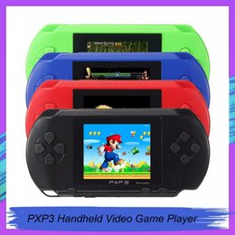 video game handheld consoles wholesale Australia - Arrival Game Player PXP3(16Bit) 2.5 Inch LCD Screen Handheld Video Game Player Console 5 Colors Mini gamepad