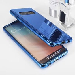 Gold protector online shopping - New Electroplated Mirror Cell Phone Case Back Cover Fashion Protector For iPhone X Xr Xs Max Plus Samsung S10 Shockproof Cover