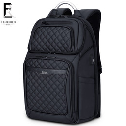 $enCountryForm.capitalKeyWord Australia - Frn Business Usb Charging Bag Men 17 Inch Laptop Backpack Waterproof High Capacity Mochila Antitheft Casual Travel Backpack Bag