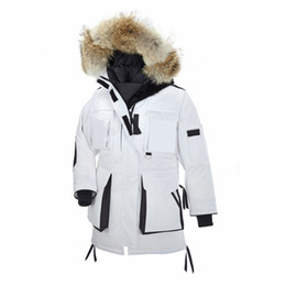 $enCountryForm.capitalKeyWord NZ - Wolf Fur Women Winter Jacket Snow Women's Goose Down Jacket Designer Jackets North Parka Womens Coat Windbreaker Warm Doudoune Femme E11
