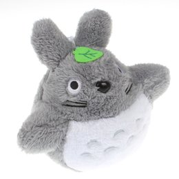 soft toys movies Australia - Movies Lovely Totoro Plush Animals Toys Stuffed Doll High Quality Kawaii Movie Character Totoro Pendant Cartoon Soft Toy Kids Gift 18cm
